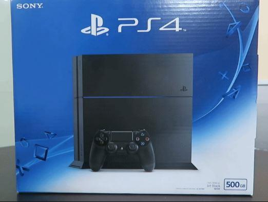 SONY PLAYSTATION 4 PS4 SLIM 500GB JET BLACK SET (FREE GIFT)