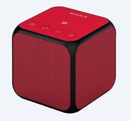 SONY PORTABLE BLUETOOTH SPEAKER (SRS X11) RED