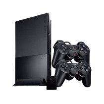 Sony PS2 Slim PlayStation 2 +1 Consoles +2 Controller +1 memory Modded