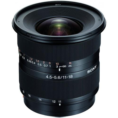 Sony SAL-1118 Zoom Super Wide Angle 11-18mm f/4.5-5.6 DT Lens
