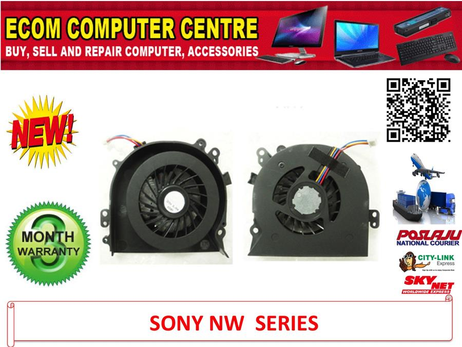 SONY VAIO VGN-NW SERIES LAPTOP CPU COOLING FAN