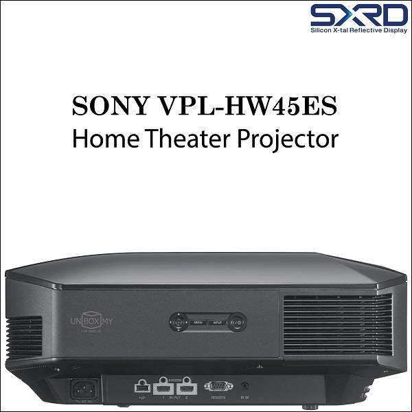 Sony VPL-HW45ES 1080p Full HD 3D Home Theater Projector