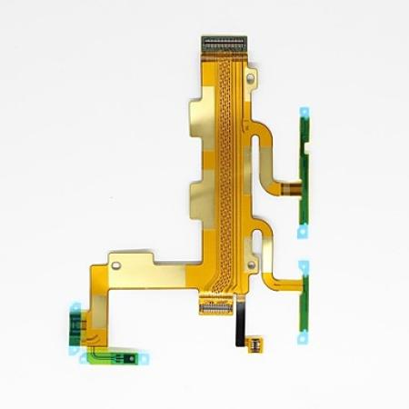 Sony Xperia C3 D2533 Main Power On/Off Volume Mic Ribbon Flex Cable