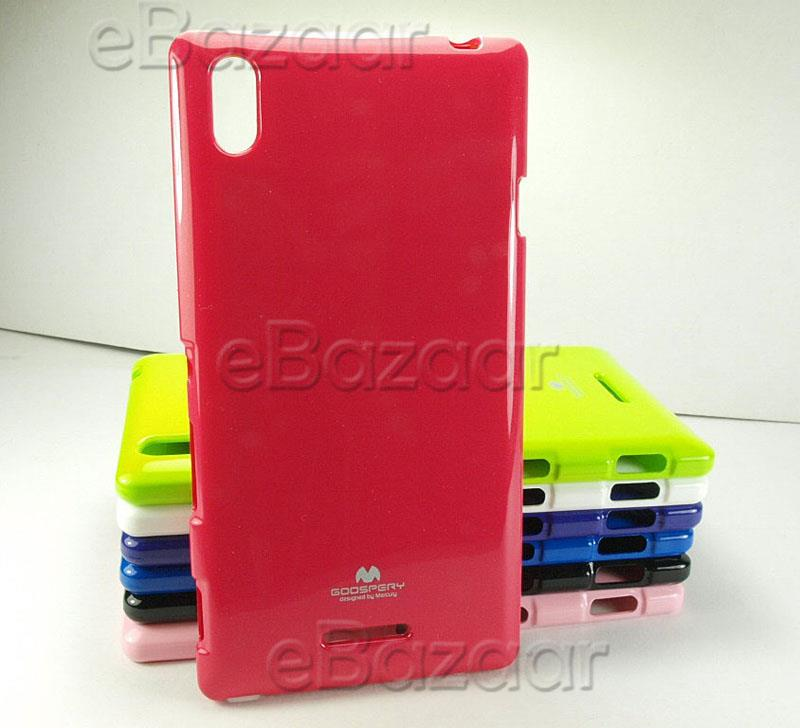 Sony Xperia T3 Mercury Color Jelly Case