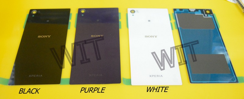 Sony Xperia Z1 C6903 L39h L39 Battery Back Cover Housing B/W/Purple