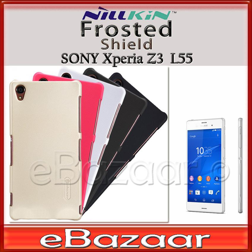 Sony Xperia Z3 L55 Nillkin Frosted shield Case Screen Protector