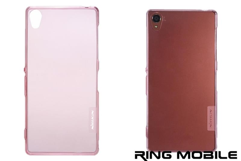 Sony Xperia Z3 Nillkin Nature Series TPU Transparent Case - Pink