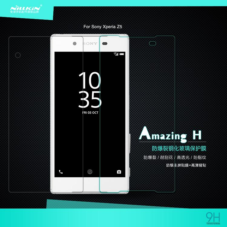 Sony Xperia Z5 Nillkin H Tempered Glass Screen Protector