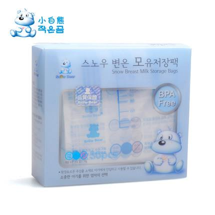 SOUTH KOREA IMPORTED SNOW BEAR BREAST MILK STORAGE BAGS 30 PIECES