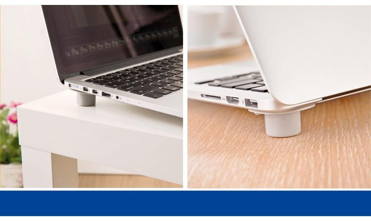 SPACE-SAVING LAPTOP COOLING PADS/4pcs