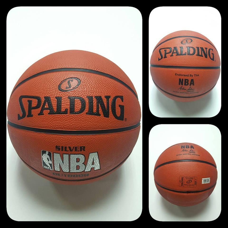 Spalding NBA Silver Series Official Size 7 Basketball