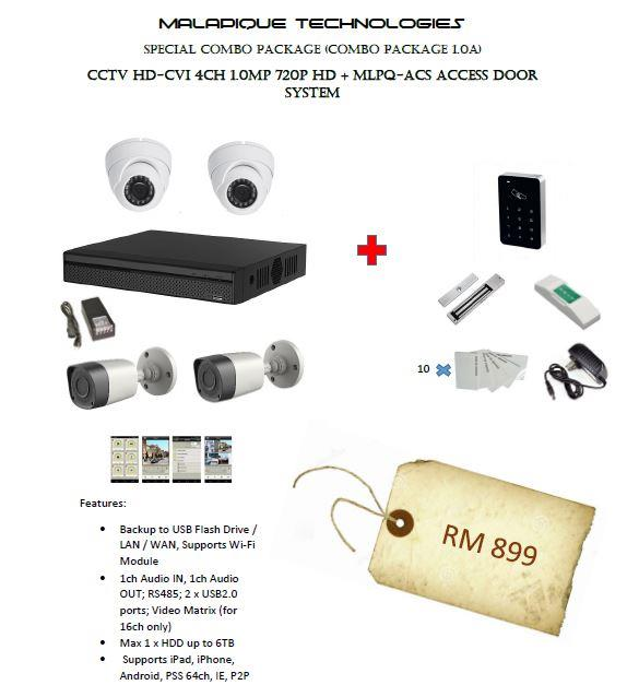 SPECIAL COMBO PACKAGE (CCTV + DOOR ACCESS)