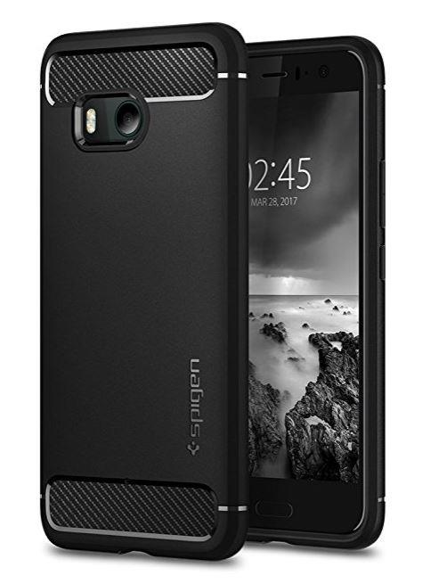 SPIGEN HTC U11 Rugged Armor Case Cover Casing