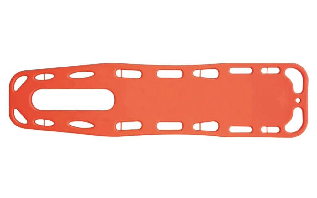 Spine Board with 3 straps Adult and Child