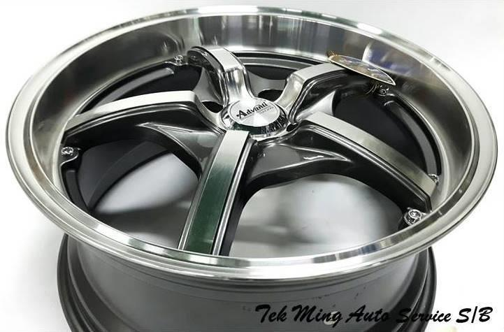 New Sport Rim Advanti MI800 Suit For Myvi City Alza Bezza Jazz