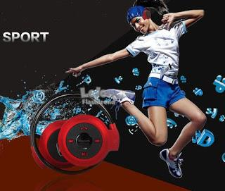 Sports Bluetooth Headset with Memory Card Slot (Free Shipping)