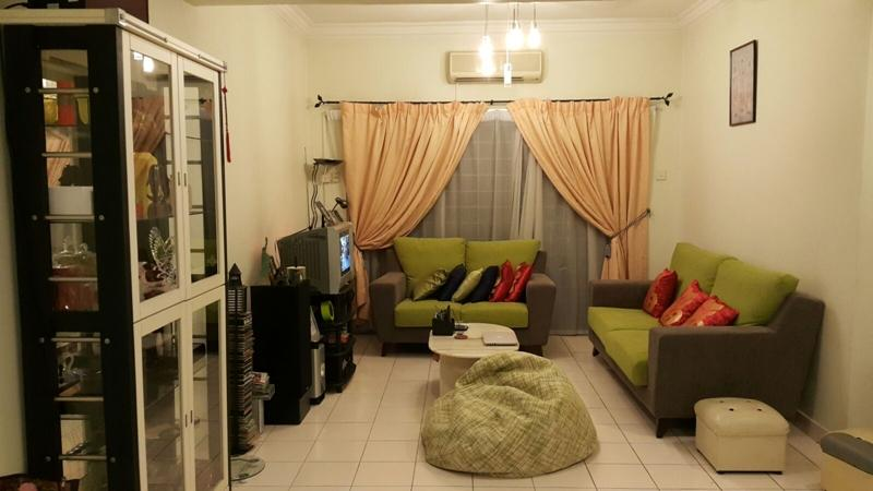 Sri Bayu Apartment for sale, Good Condition, KL View, Puchong Jaya