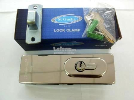 St Guchi Lock Clamp For Glass Door SGPF300