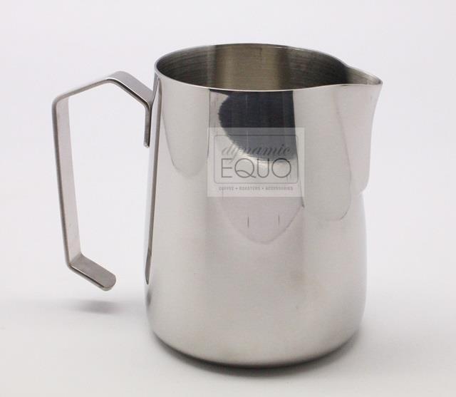 Stainless Steel 0.8mm Milk Frothing Steaming Pitcher 12oz