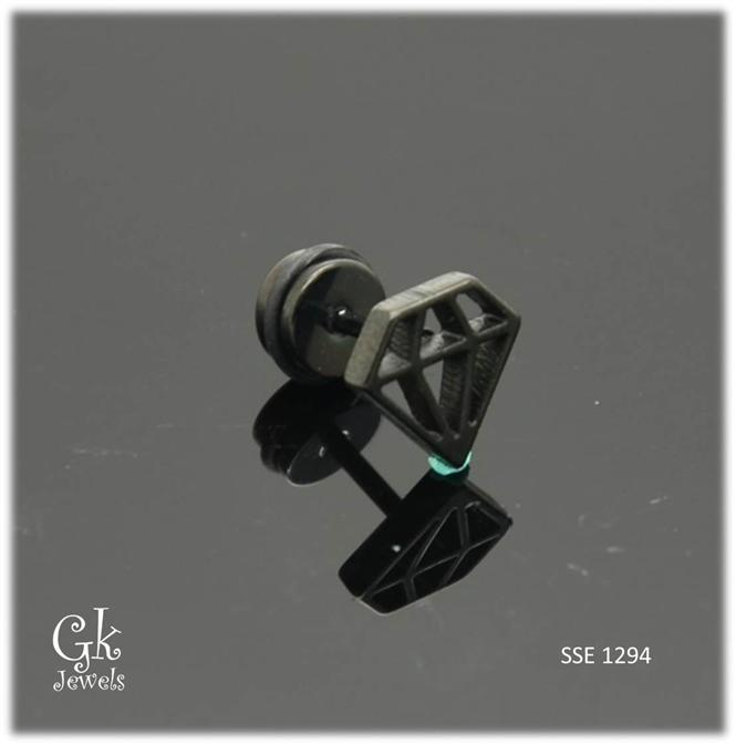 Stainless steel Earring SSE 1294 (9mm)