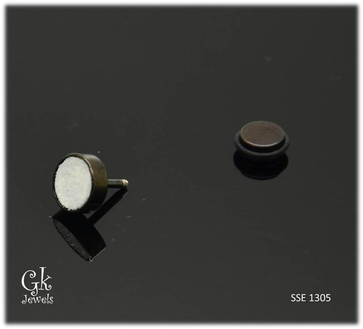 Stainless steel Earring SSE 1305 (8mm)