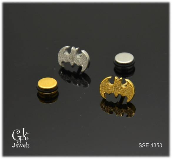 Stainless steel Earring SSE 1350 (one piece)