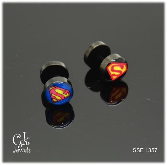 Stainless steel Earring SSE 1357 (one piece)