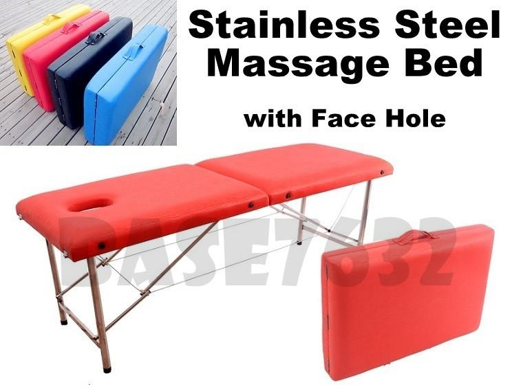 Stainless Steel  Folding Foldable Massage Beauty Bed Table