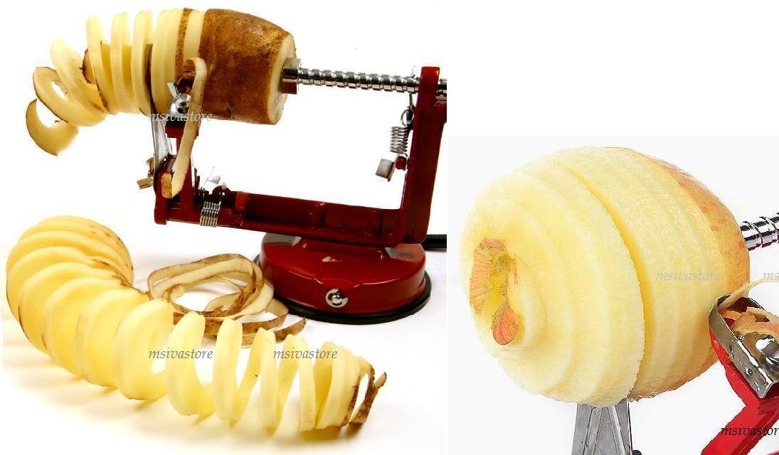 Stainless Steel Potato/Apple/Pear Peeler / Corer / Slicer 3in1. Sale!