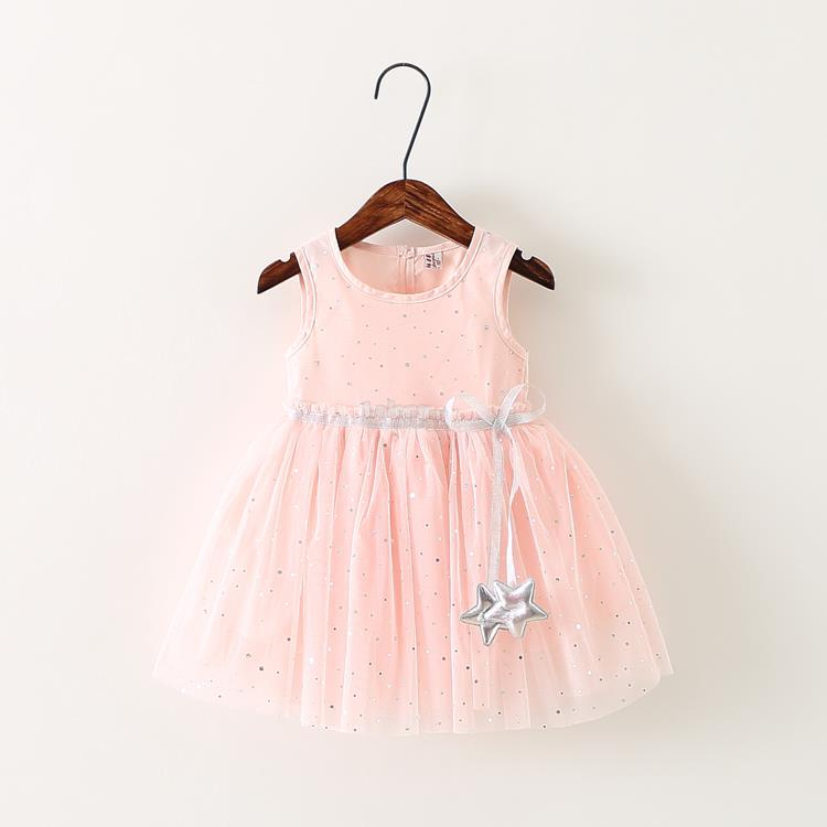 Little Star Pink Princess Dress
