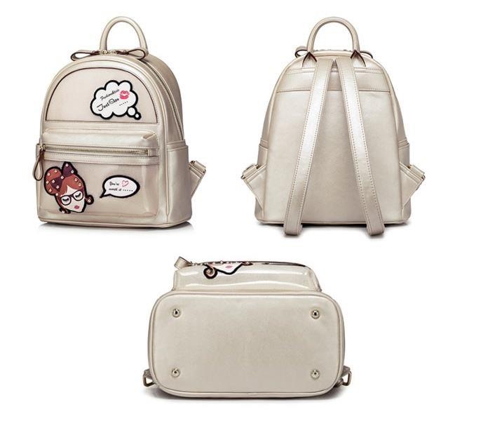 Just Star-Preppy series: Korean style backpack 日韩&#23398..