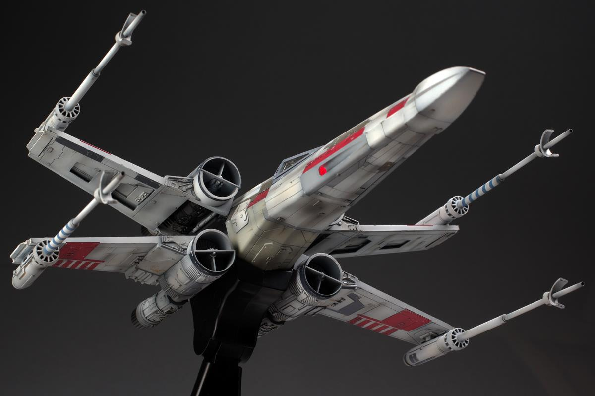 star wars bandai 1 48 x wing starf end 2 16 2016 6 15 pm. Black Bedroom Furniture Sets. Home Design Ideas
