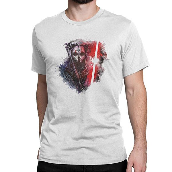 Star Wars Darth Nihilus Men's Custom Design Cotton T-Shirt