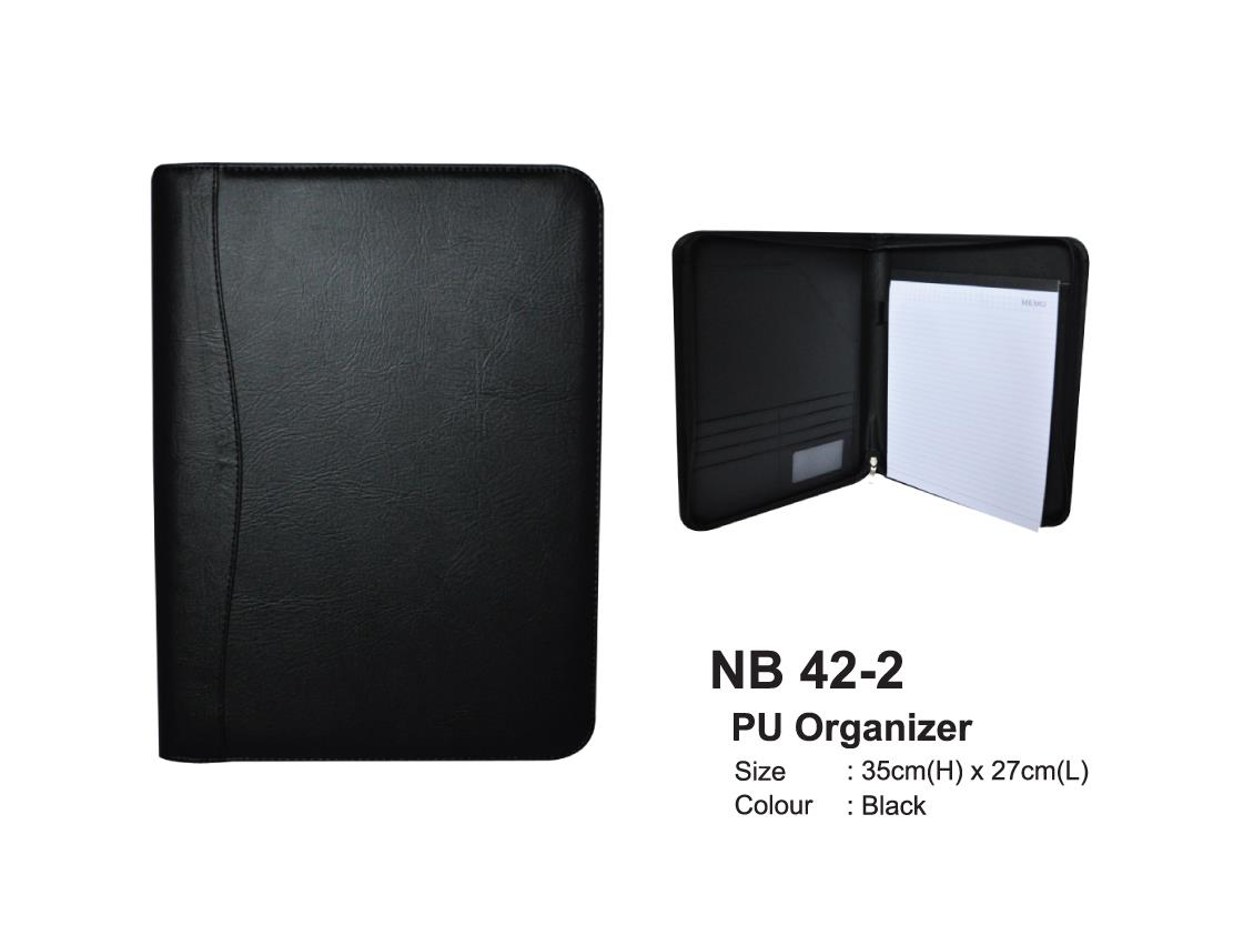 STATIONERY NB 42-2 PU Organizer
