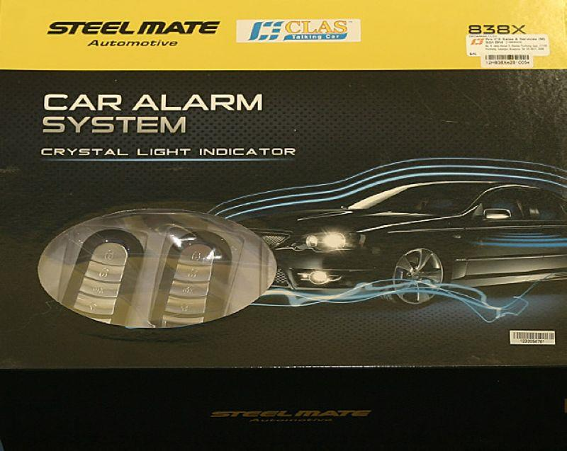 Steelmate 838X High Range Car Alarm Securities System