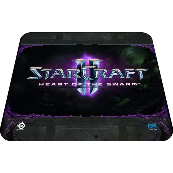 SteelSeries Qck Logo Starcraft 2 HoS Edition Mouse Pad (67267)