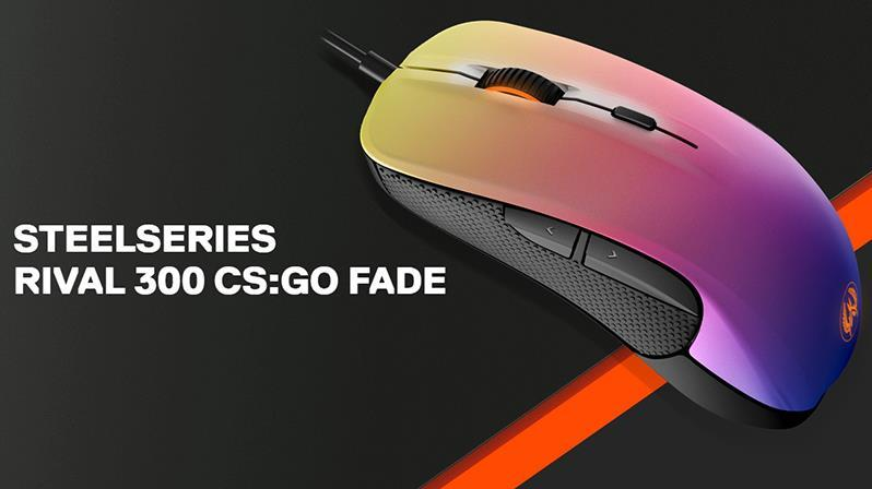 SteelSeries RIVAL 300 CS:GO FADE EDITION 62279
