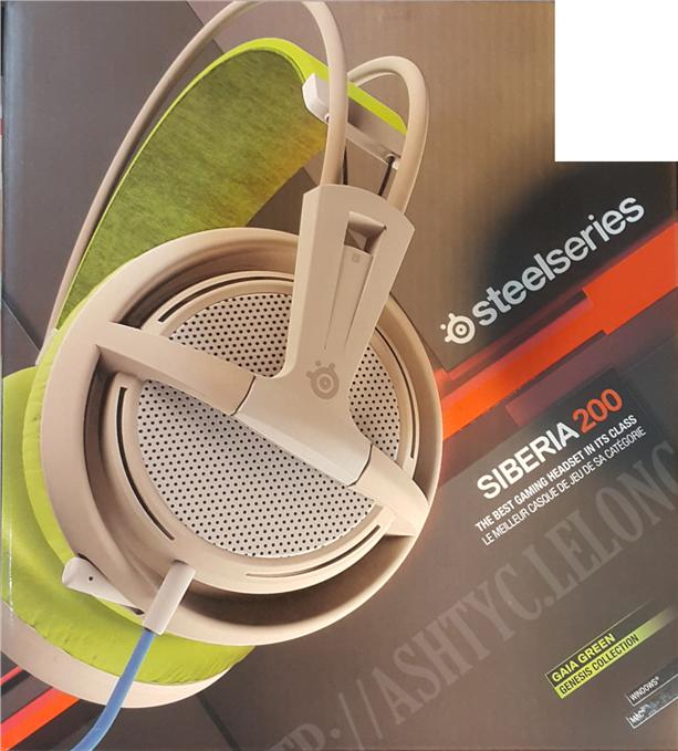 STEELSERIES WIRED SIBERIA 200 HEADSET (51137) GAIA GREEN