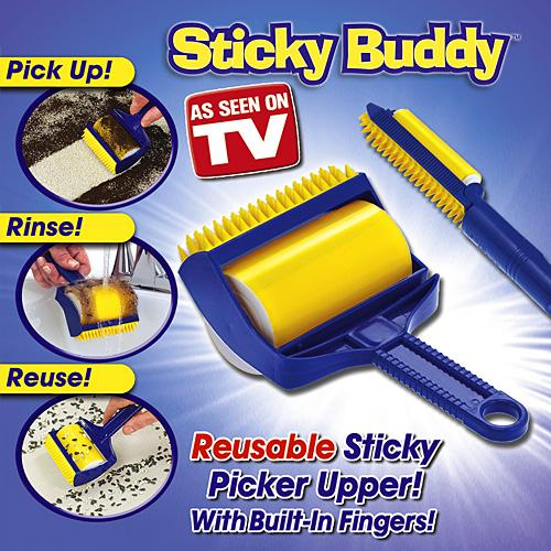 sticky buddy cloth dust remover roll end 5 8 2018 8 15 pm. Black Bedroom Furniture Sets. Home Design Ideas