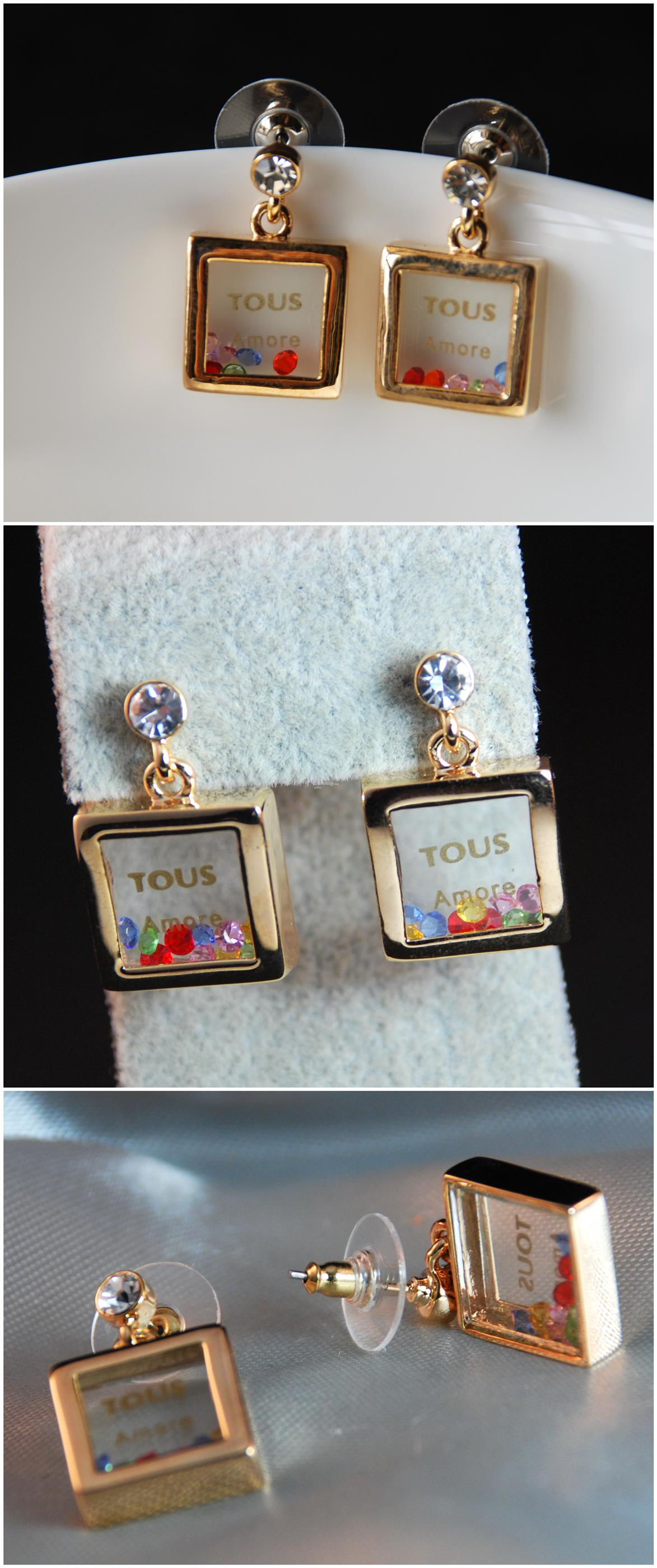 [Stock Clearance] Korean Earrings - Fashional Perfume Bottle