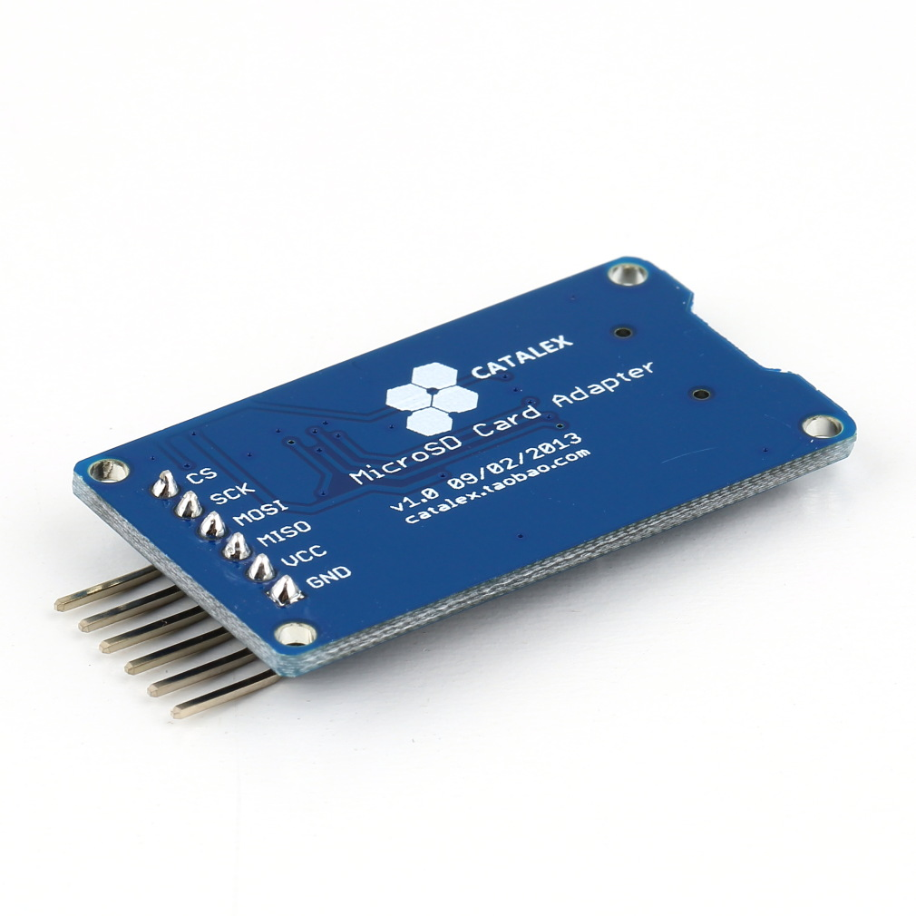 How to interface a SD CARD to an Arduino board