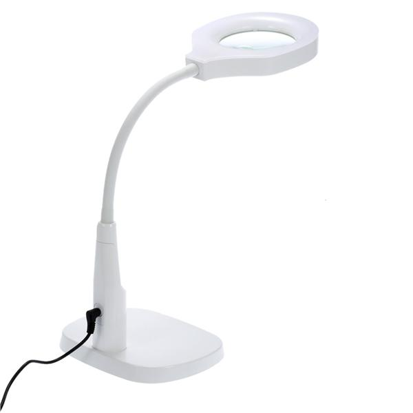 Sturdy Good Quality Versatile 2 in 1 Lighted Magnifier and Desk Lamp