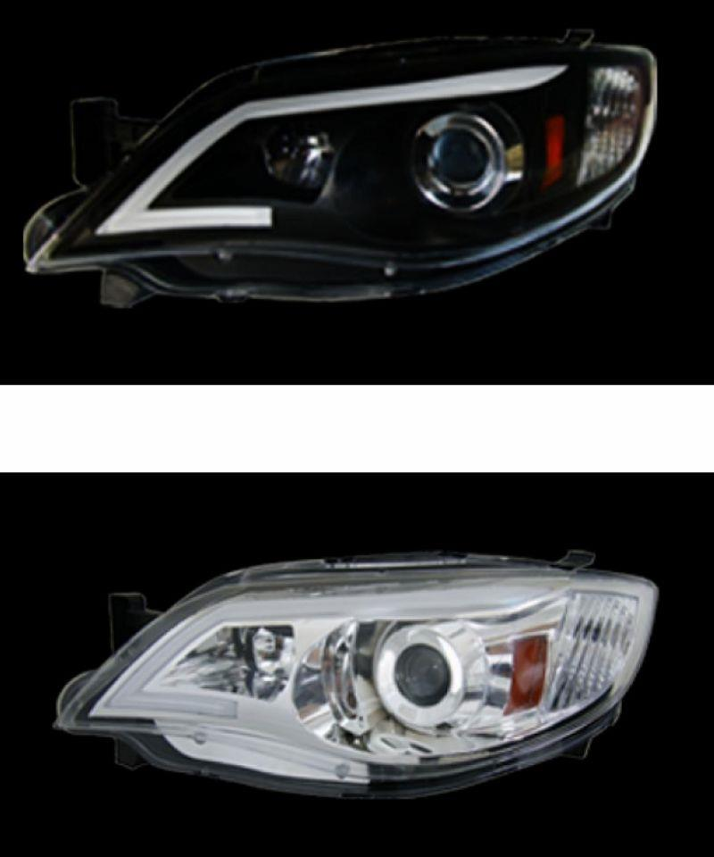 SUBARU IMPREZA 08 Projector Head Lamp Cool Starline DRL R8