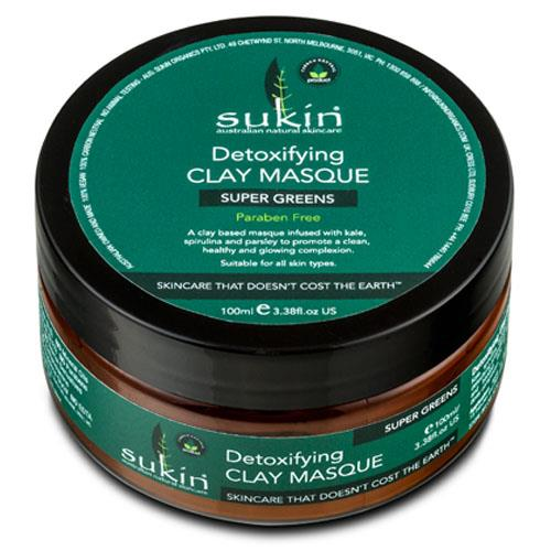 Sukin Super Greens Detoxifying Clay Masque