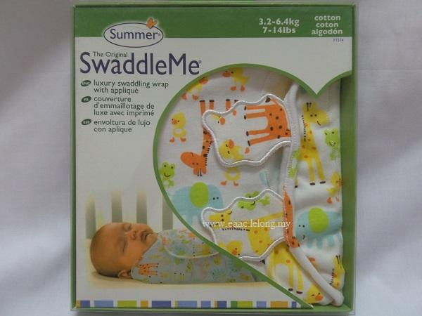 Summer Swaddle Me Deluxe Infant Wrap Newborn Toddler Baby Blanket