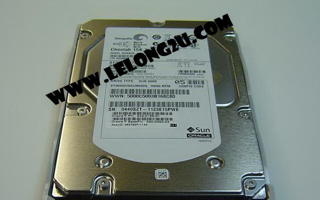 Sun Oracle  600GB 15K 6Gb SAS-2/SAS Hard Drive 542-0166