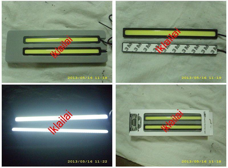 Super Brightness CGI Cool Light Bar Slim LED Daylight DRL [17cm Long]