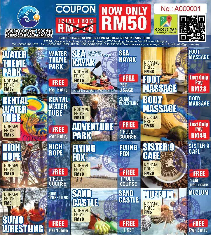 Super Value Day-Trip RM50 Coupon for Sell
