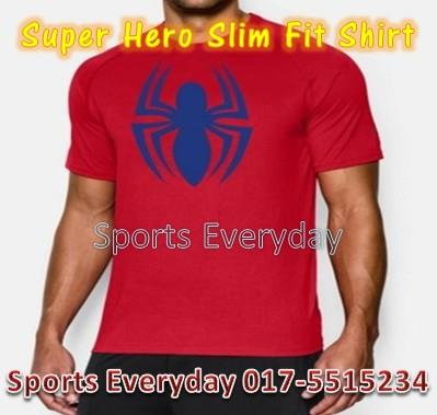 Super Hero Slim Body Fit Compression Shirt baju - Spiderman 3