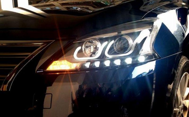 SUPER SENTRA / Sylphy U Style Projector Head Lamp LED DRL R8